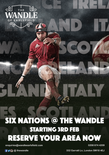 Wandle Rugby Poster